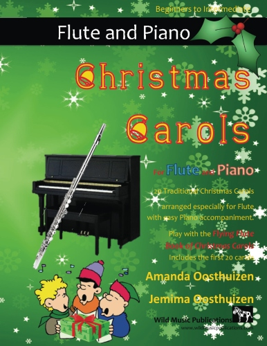 Christmas Carols for Flute and Easy Piano