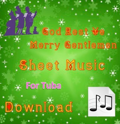 God Rest Ye Merry Gentlemen Tuba Sheet Music