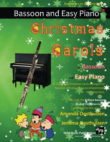 Christmas Carols for Bassoon and Easy Piano