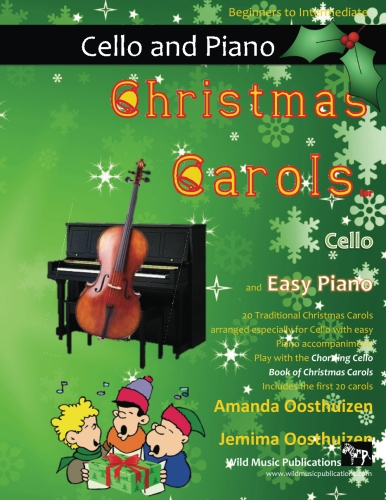 Christmas Carols for Cello and Easy Piano