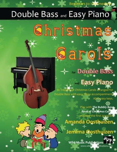 Christmas Carols for Double Bass and Easy Piano