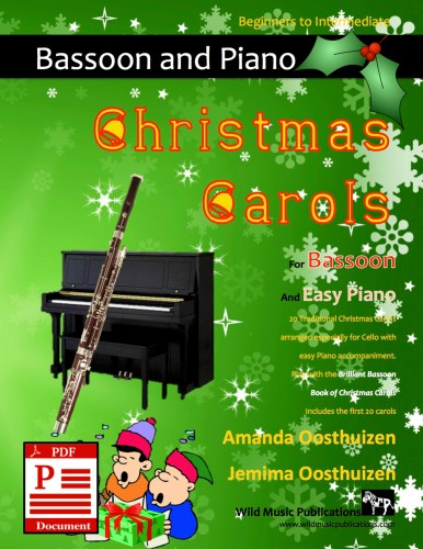 Christmas Carols for Bassoon and Easy Piano Download