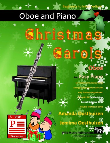 Christmas Carols for Oboe and Easy Piano Download