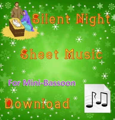 Silent Night - Mini-Bassoon Sheet Music Download