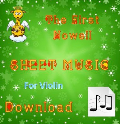 The First Nowell - Violin Sheet Music