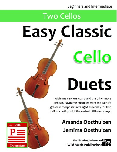Easy Classic Cello Duets Download
