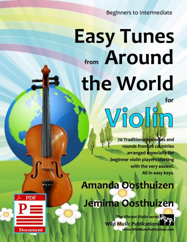 Easy Tunes from Around the World for Violin Download