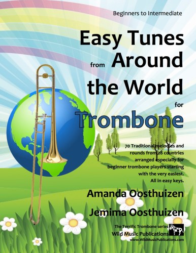 Easy Tunes from Around the World for Trombone
