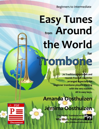 Easy Tunes from Around the World for Trombone Download