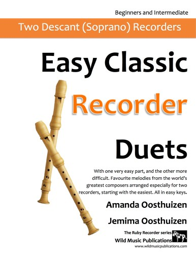 Easy Classic Recorder Duets