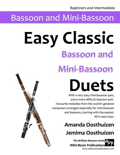 Easy Classic Bassoon and Mini-Bassoon Duets