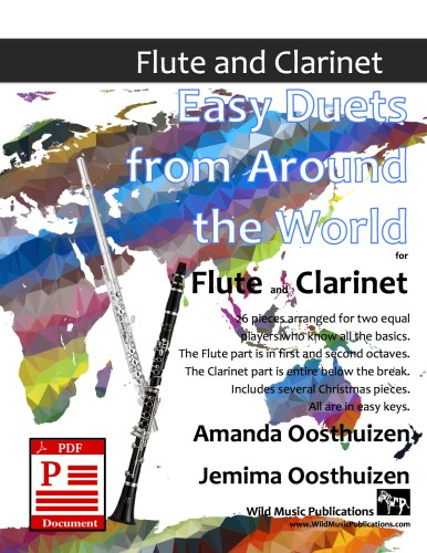 Easy Duets from Around the World for Flute and Clarinet Download