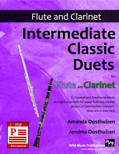 Intermediate Classic Duets for Flute and Clarinet Download