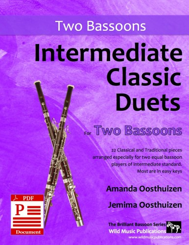Intermediate Classic Duets for Two Bassoons Download