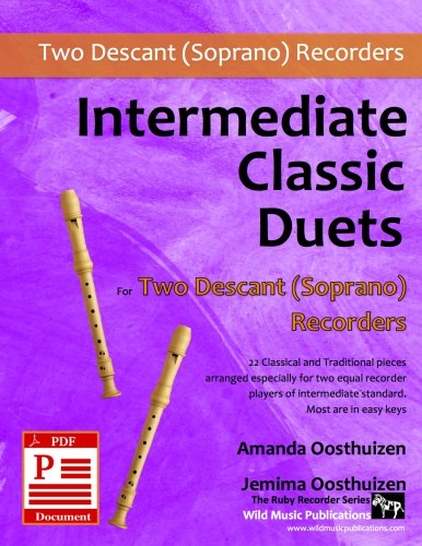 Intermediate Classic Duets for Two Descant (Soprano) Recorders Download
