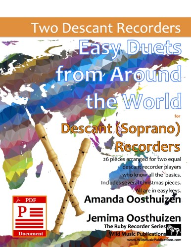 Easy Duets from Around the World for Descant (Soprano) Recorders Download