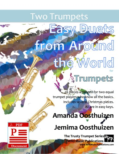 Easy Duets from Around the World for Trumpets Download