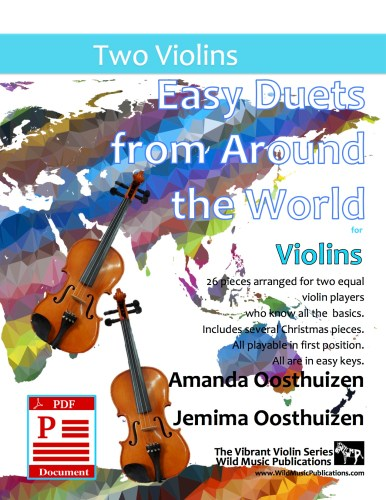 Easy Duets from Around the World for Violins Download
