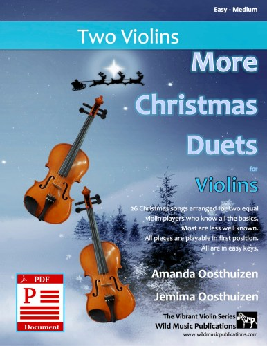 More Christmas Duets for Violins Download