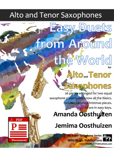 Easy Duets from Around the World for Alto and Tenor Saxophones Download