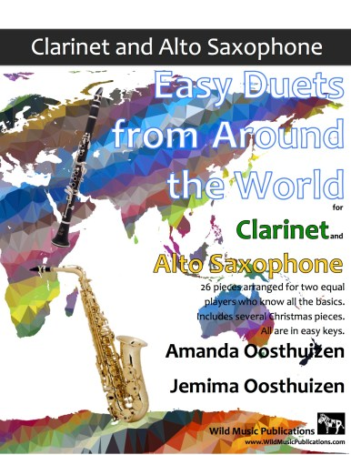 Easy Duets from Around the World for Clarinet and Alto Saxophone