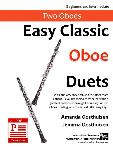 Easy Classic Oboe Duets Download