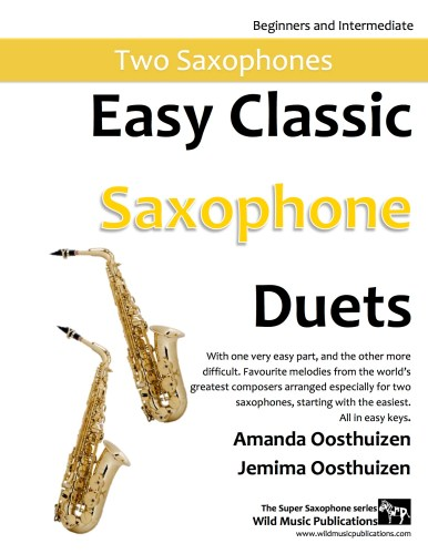 Easy Classic Saxophone Duets