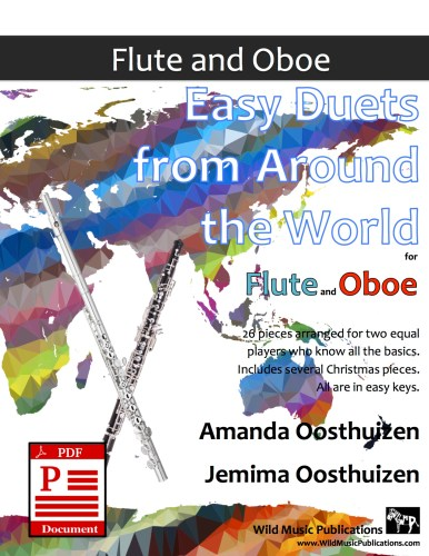 Easy Duets from Around the World for Flute and Oboe Download