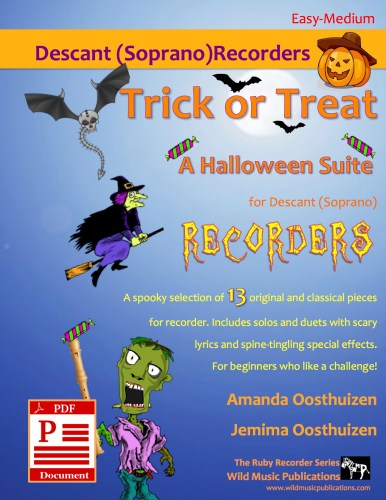 Trick or Treat - A Halloween Suite for Descant (Soprano) Recorders Download