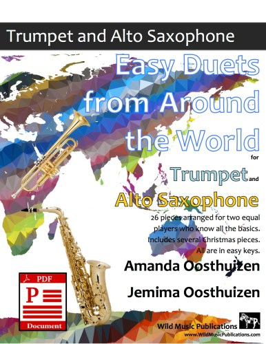 Easy Duets from Around the World for Trumpet and Alto Saxophone Download