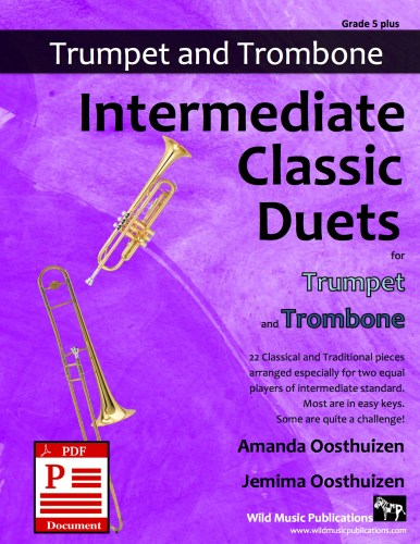 Intermediate Classic Duets for Trumpet and Trombone Download