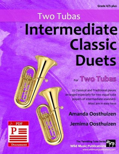 Intermediate Classic Duets for Two Tubas Download