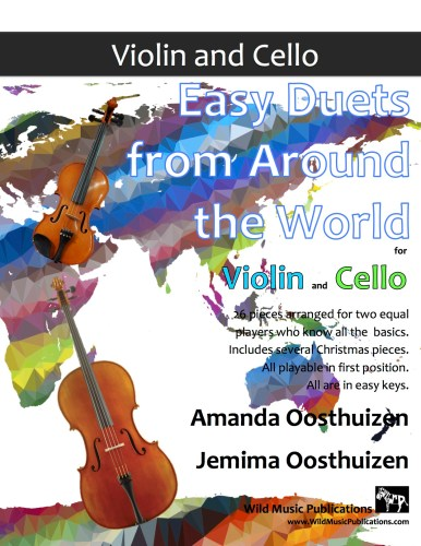 Easy Duets from Around the World for Violin and Cello