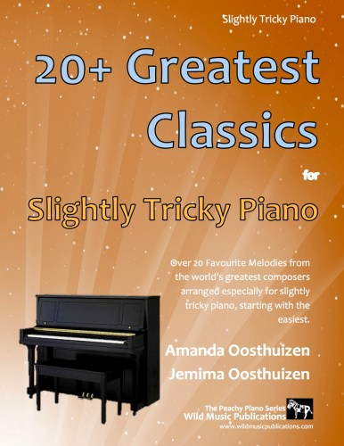 20+ Greatest Classics for Slightly Tricky Piano