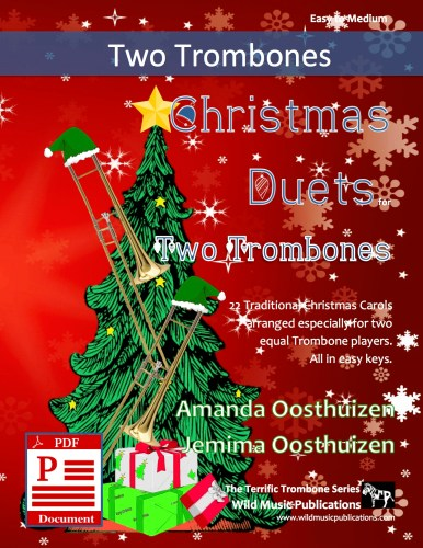 Christmas Duets for Two Trombones Download