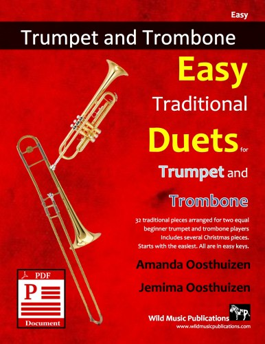 Easy Traditional Duets for Trumpet and Trombone Download