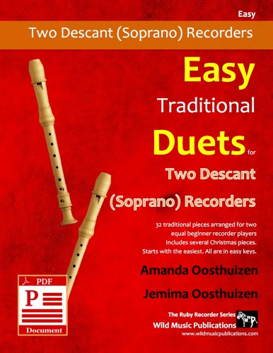 Easy Traditional Duets for Two Descant Recorders Download