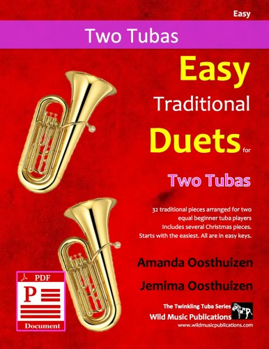 Easy Traditional Duets for Two Tubas Download