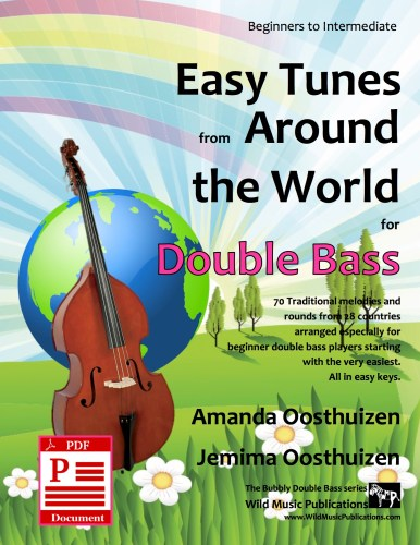 Easy Tunes from Around the World for Double Bass Download
