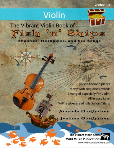 The Vibrant Violin Book of Fish 'n' Ships