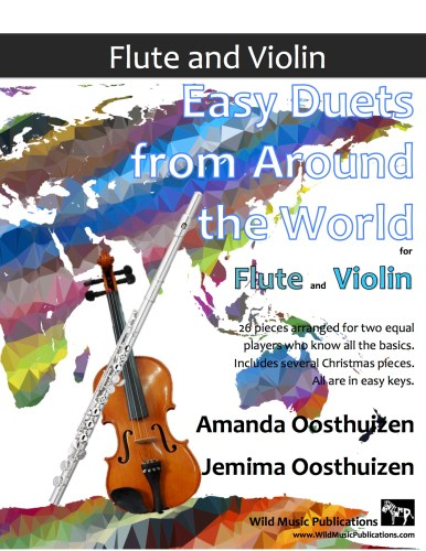 Easy Duets from Around the World for Flute and Violin