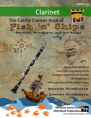 The Catchy Clarinet Book of Fish 'n' Ships