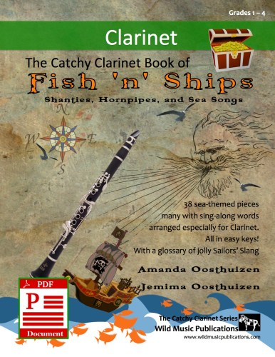 The Catchy Clarinet Book of Fish 'n' Ships Download