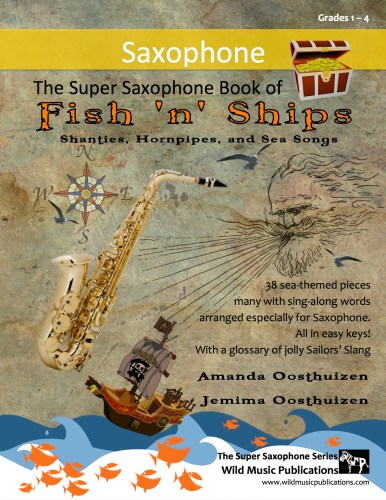 The Super Saxophone Book of Fish 'n' Ships