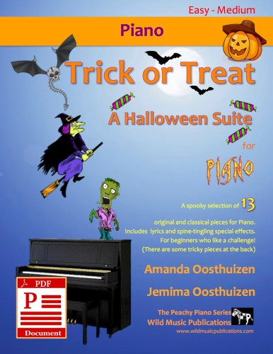 Trick or Treat - A Halloween Suite for Piano Download