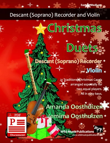 Christmas Duets for Descant Recorder and Violin Download