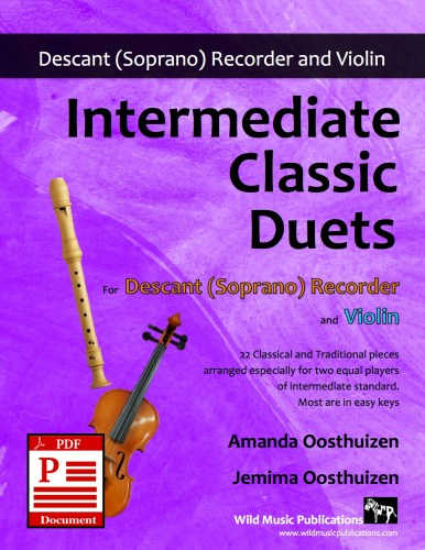 Intermediate Classic Duets for Descant Recorder and Violin Download