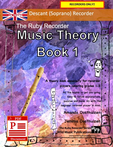 The Ruby Recorder Music Theory Book 1 - UK Terms Download