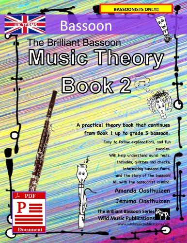 The Brilliant Bassoon Music Theory Book 2 - UK Terms Download
