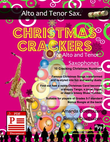 Christmas Crackers for Alto and Tenor Saxophones Download